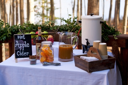 Hot cider bar